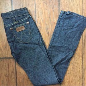 Vintage Wrangler Jeans Lillington Low Rise Straigh